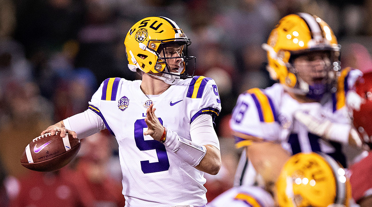 LSU football Tigers Joe Burrow 2019