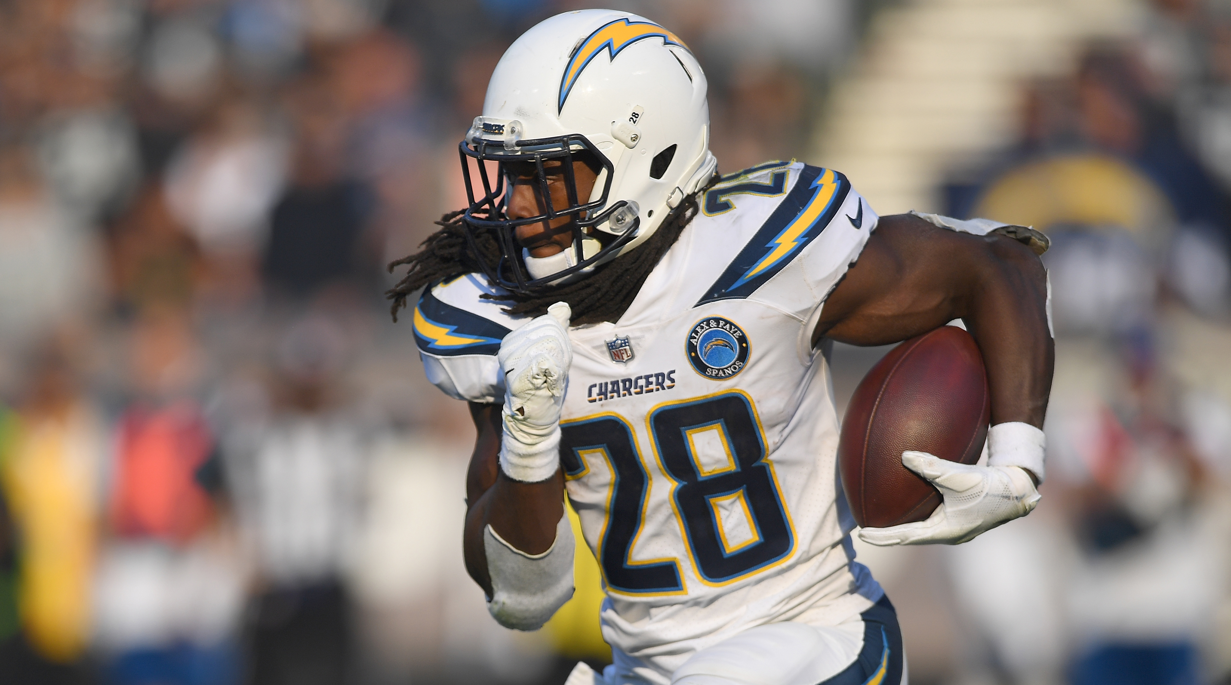 Melvin Gordon, los angeles chargers, wire, NFL
