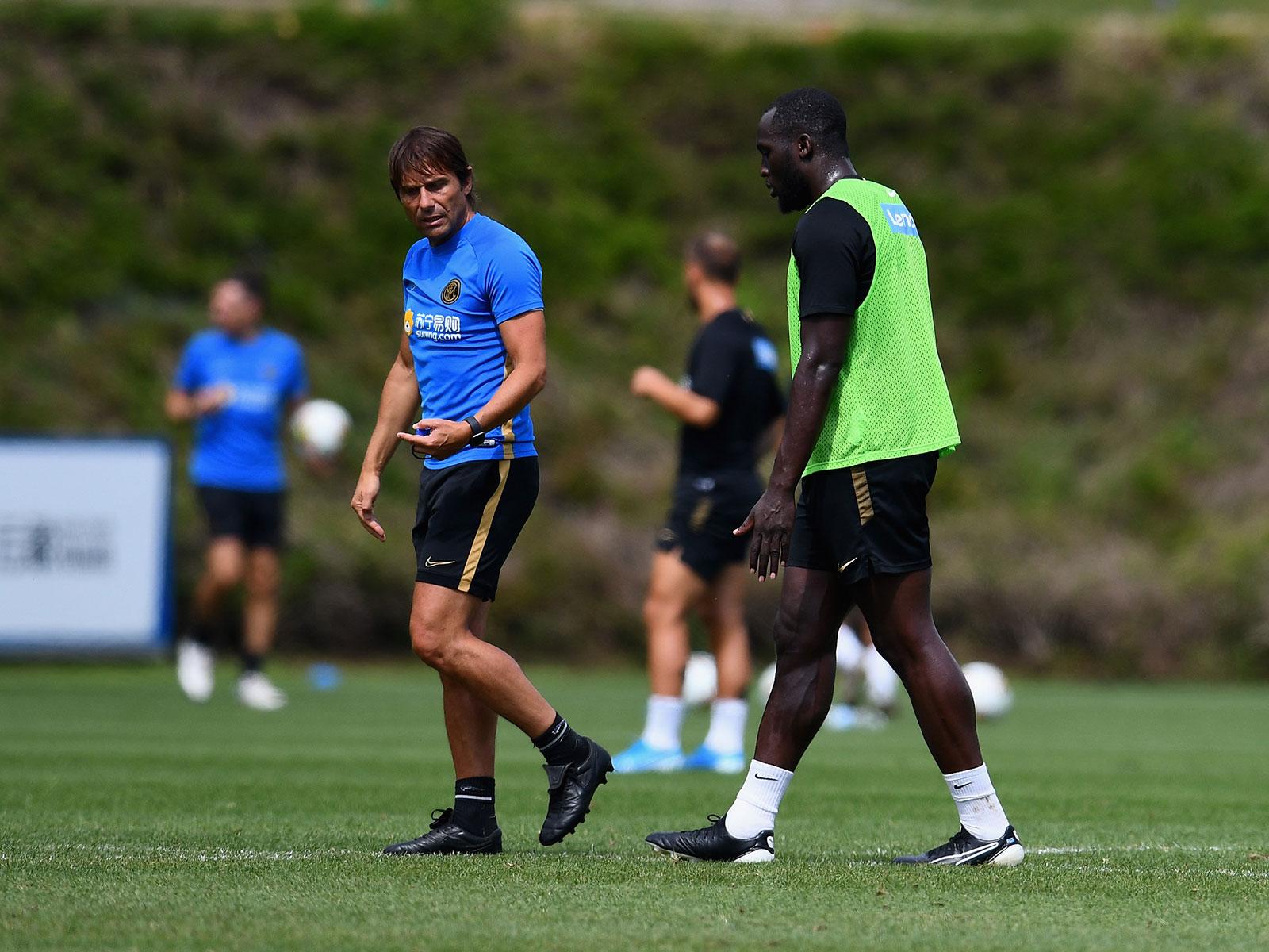 Antonio Conte and Romelu Lukaku are new faces at Inter Milan