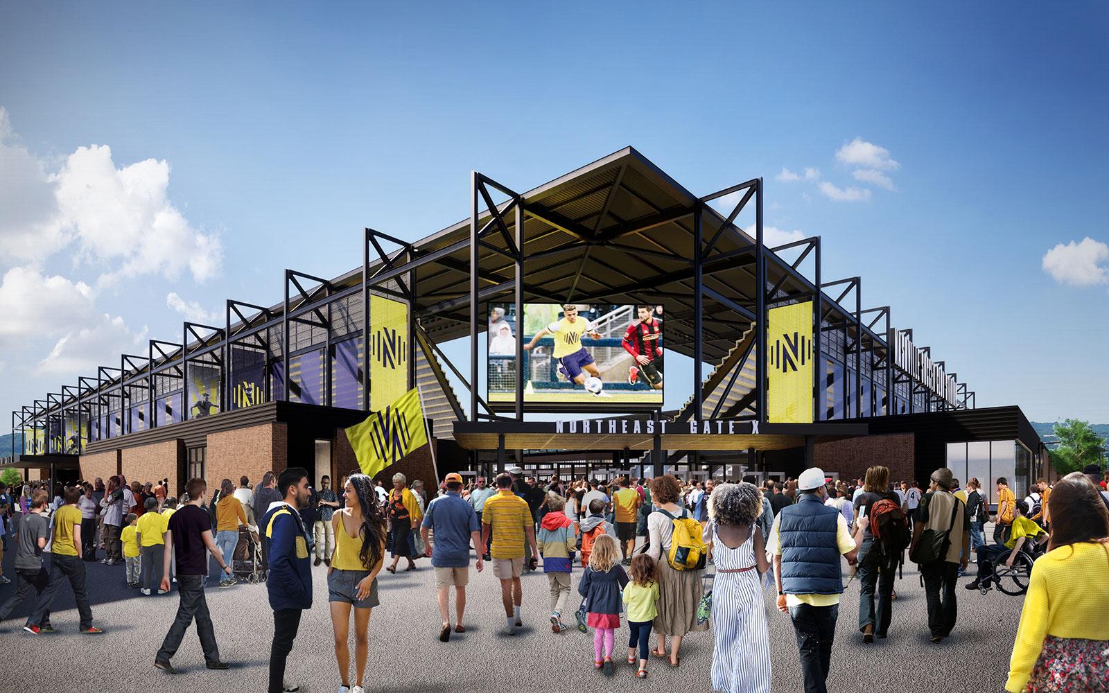 Nashville SC will open its new stadium in 2022