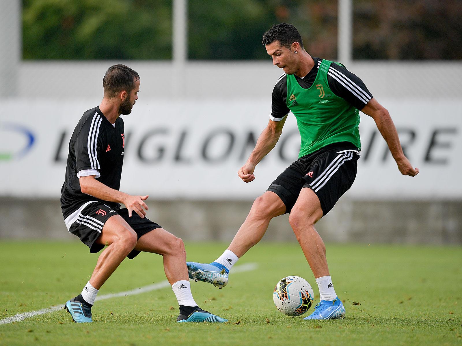 Cristiano Ronaldo prepares for his second season at Juventus