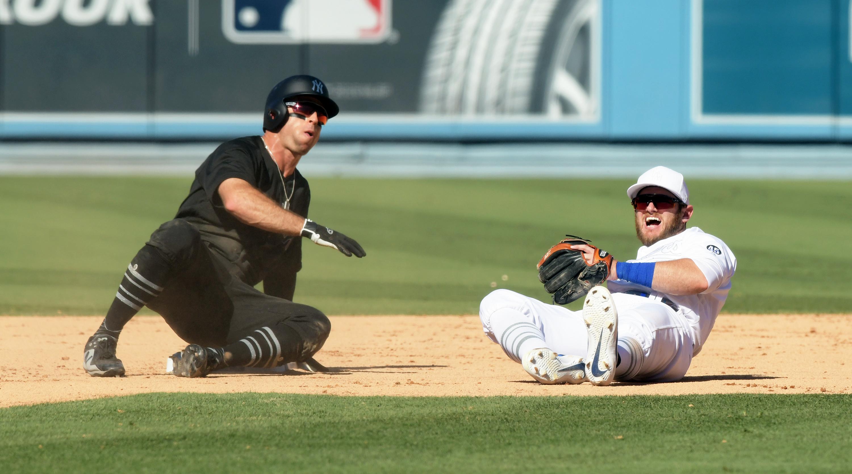 MLB: AUG 24 Yankees at Dodgers