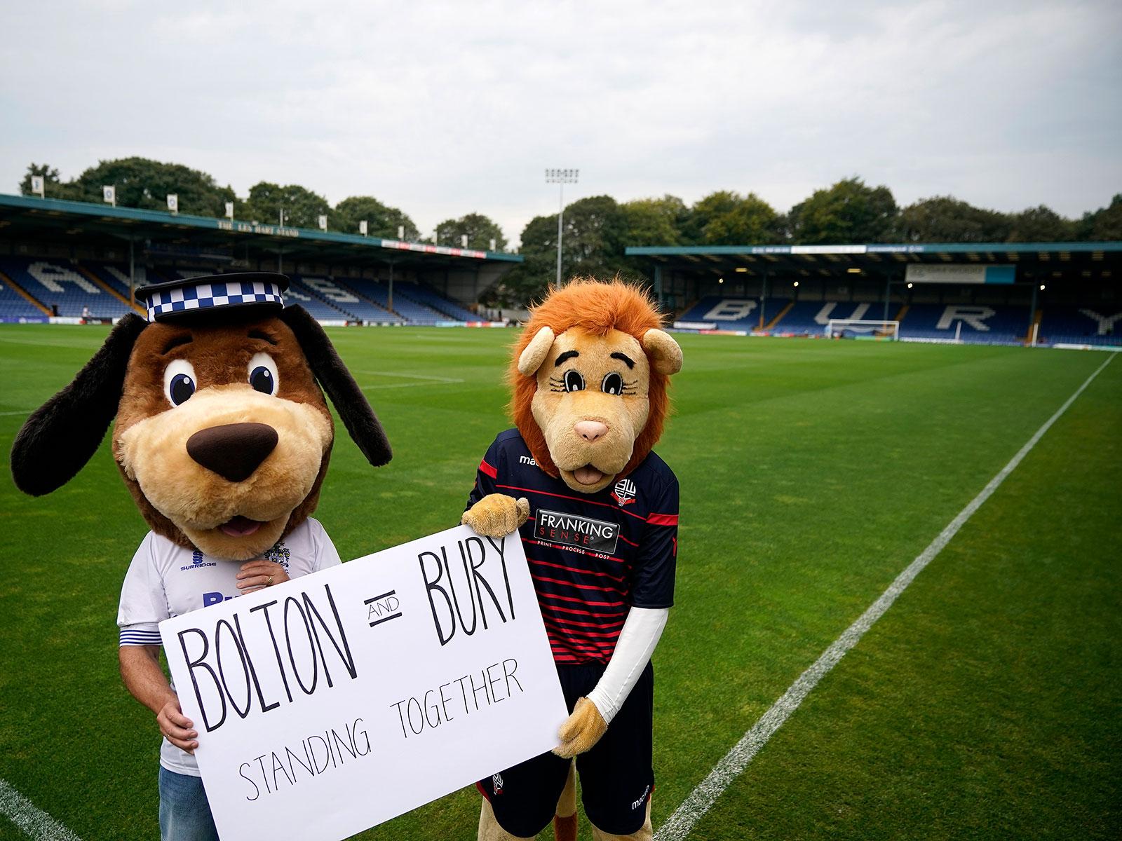 Bolton and Bury face expulsion from the English Football League
