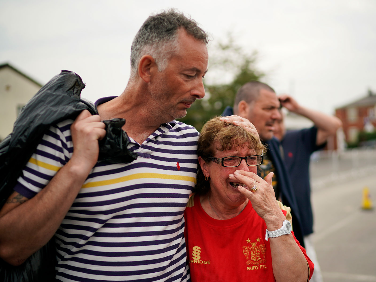 Bury fans mourn the potential loss of their club