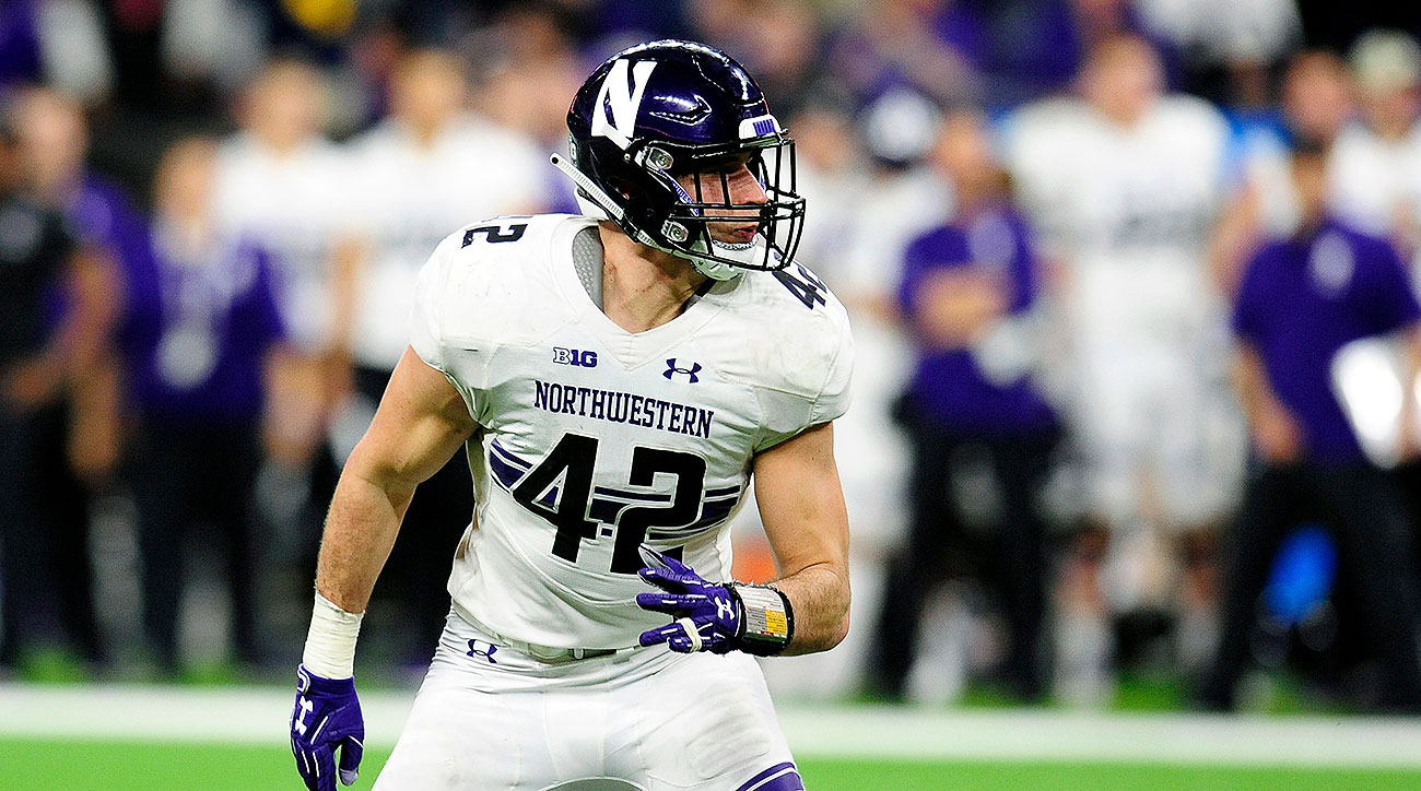 Northwestern football Paddy Fisher 2019