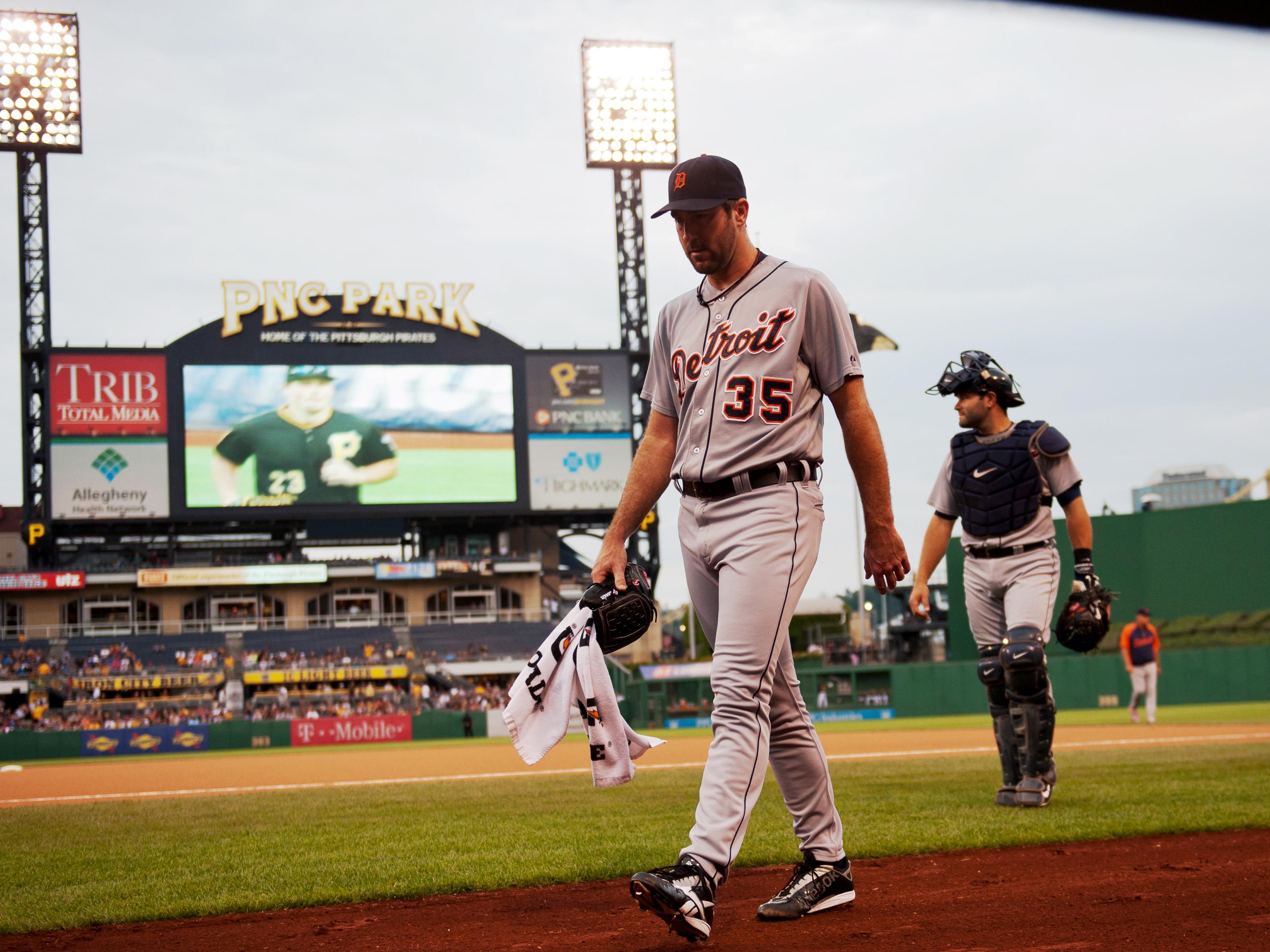 MLB: AUG 11 Tigers at Pirates