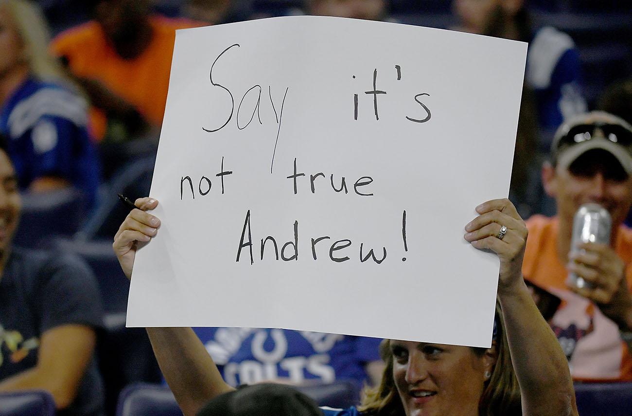 Andrew Luck retirement