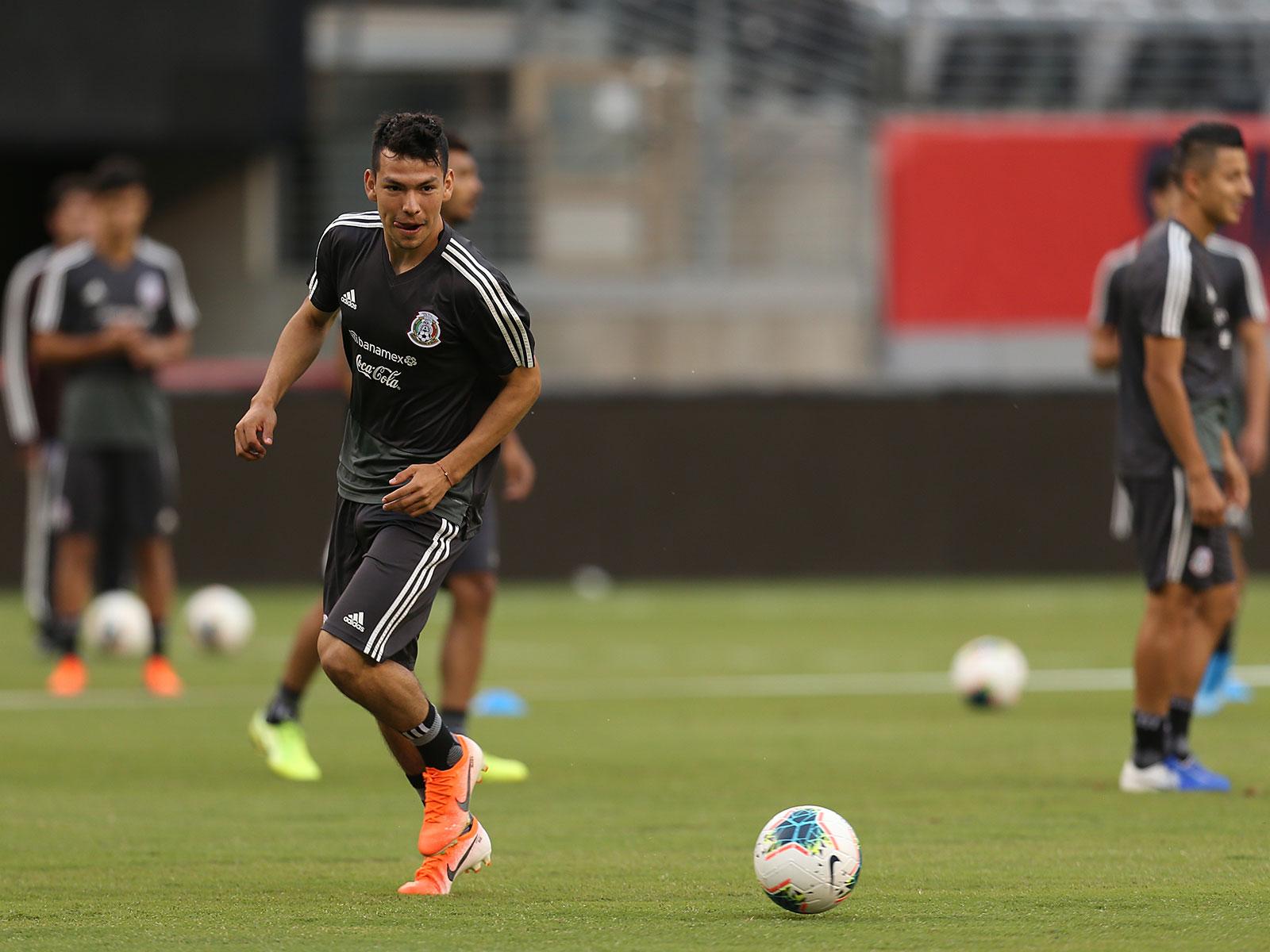 Hirving Lozano will lead Mexico vs. the USA