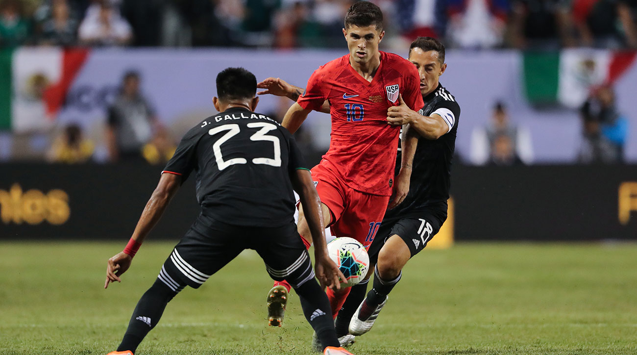 Christian Pulisic and the USA face Mexico in a friendly