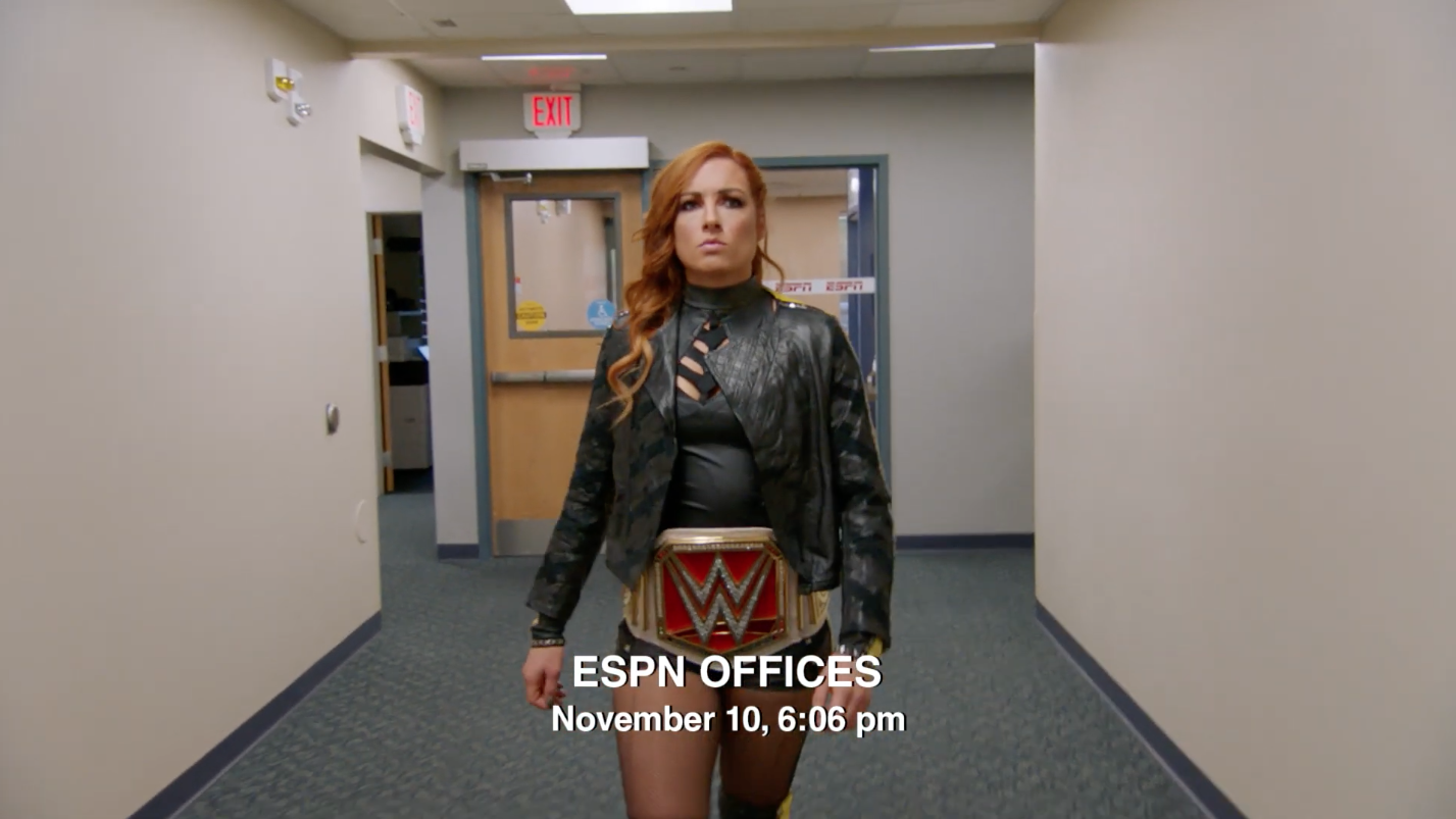 Becky Lynch: WWE star in ESPN This Is Sportscenter commercial (video)