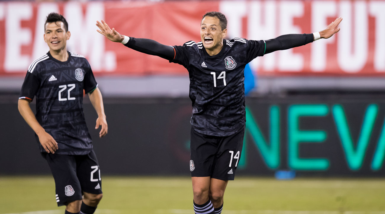 Hirving Lozano and Chicharito helped Mexico beat the USMNT