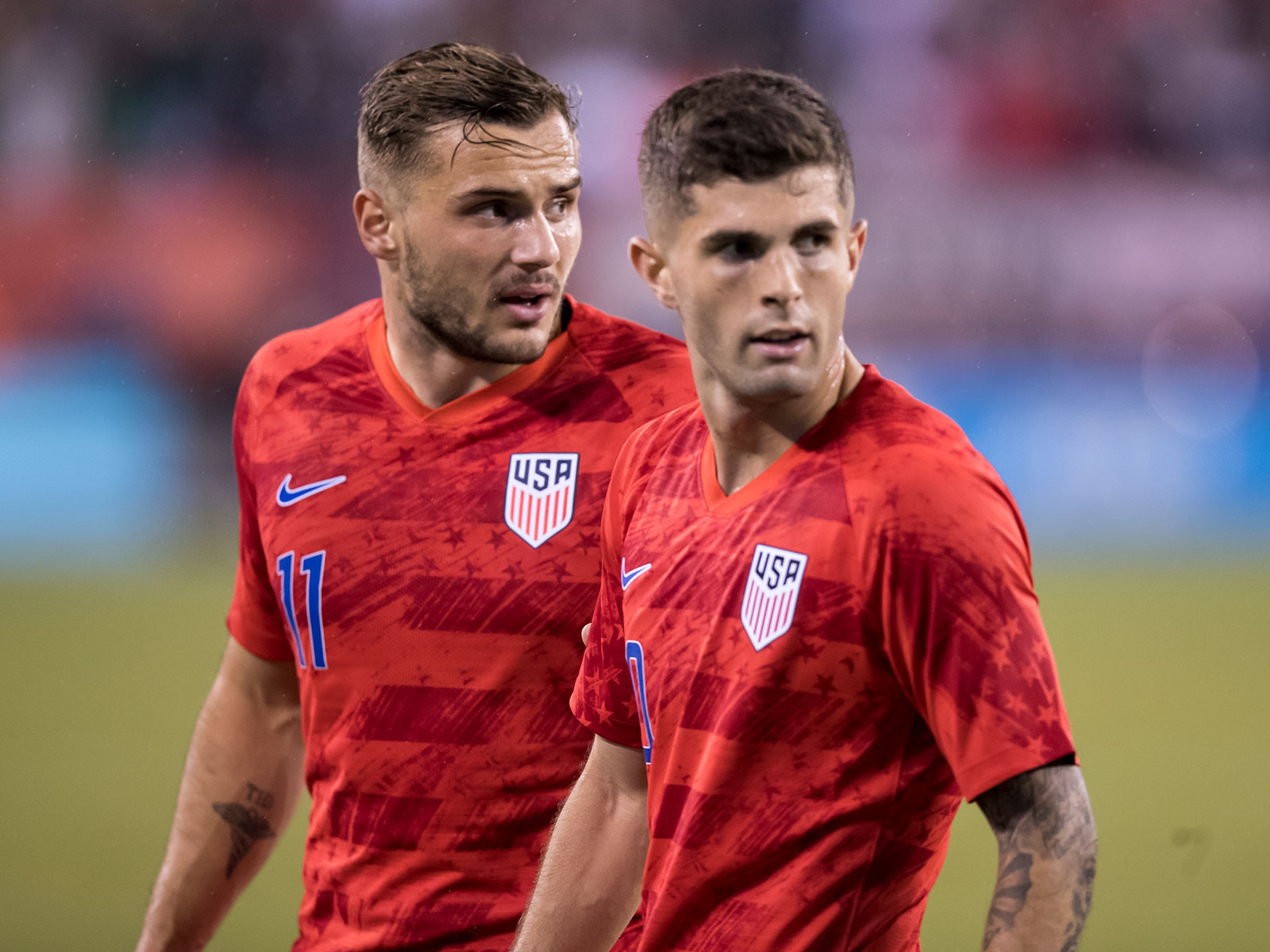 Christian Pulisic and the USA fell to Mexico in a friendly