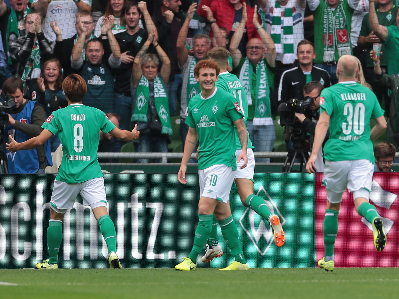 Josh Sargent has enjoyed a strong start to the season at Werder Bremen