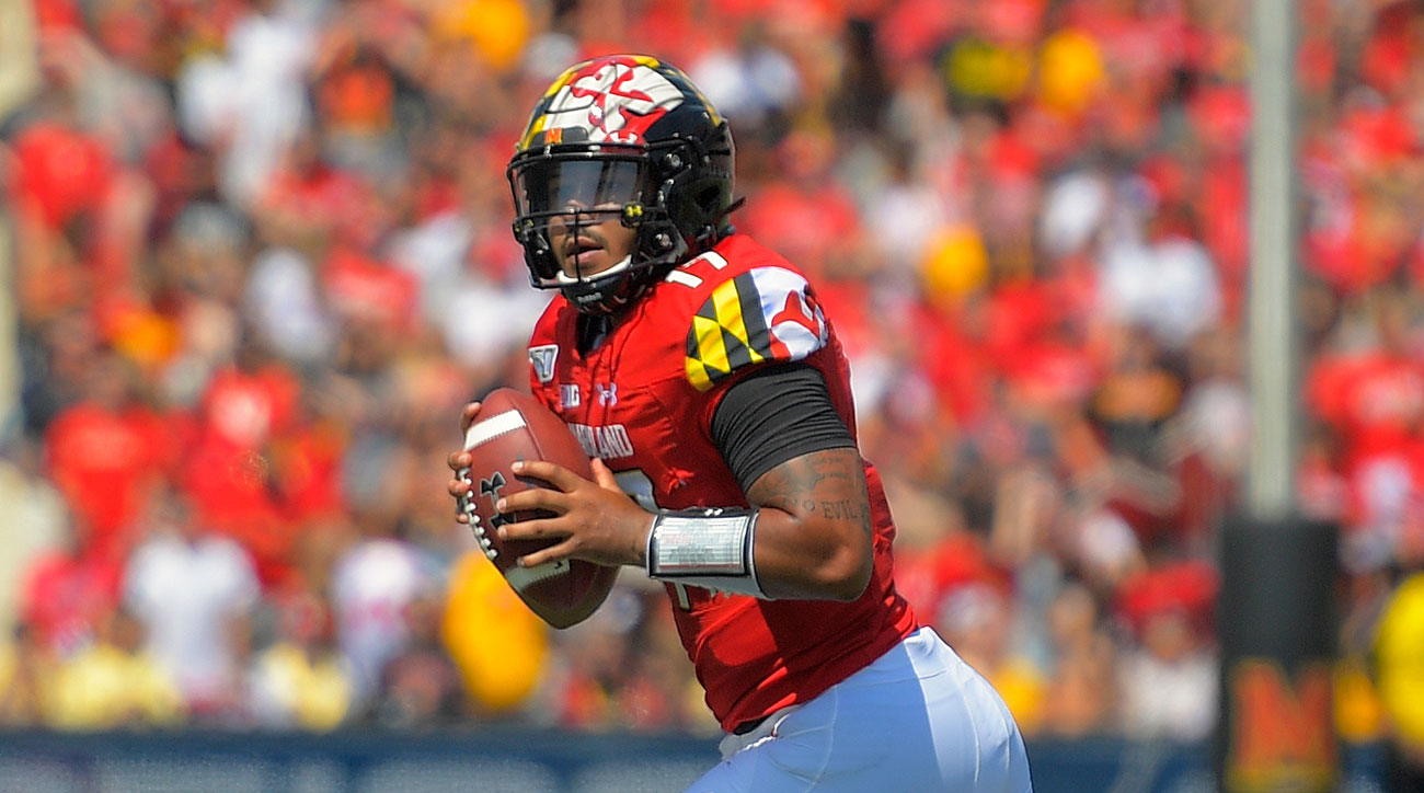 Maryland football QB Josh Jackson Mike Locksley
