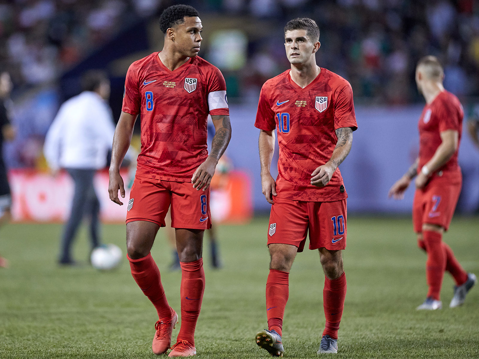 Weston McKennie and Christian Pulisic won't be available for the USA vs. Uruguay