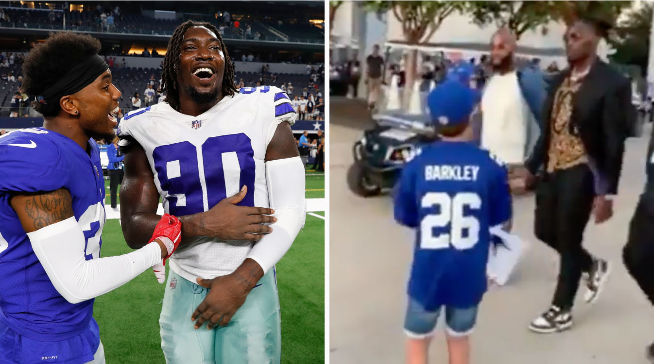 Demarcus Lawrence turns down autograph