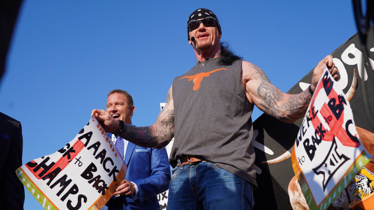 WWE news: Behind Undertaker's ESPN College Gameday appearance