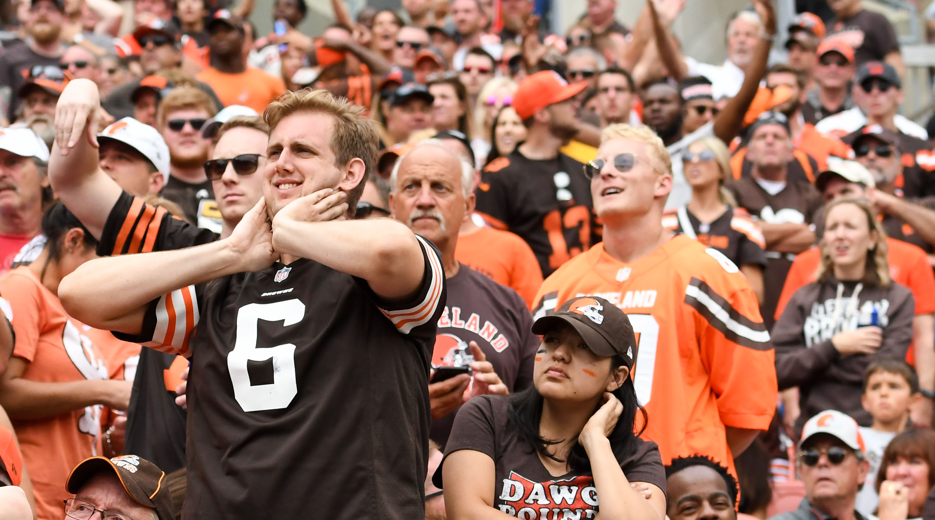 Browns ban wrong fan