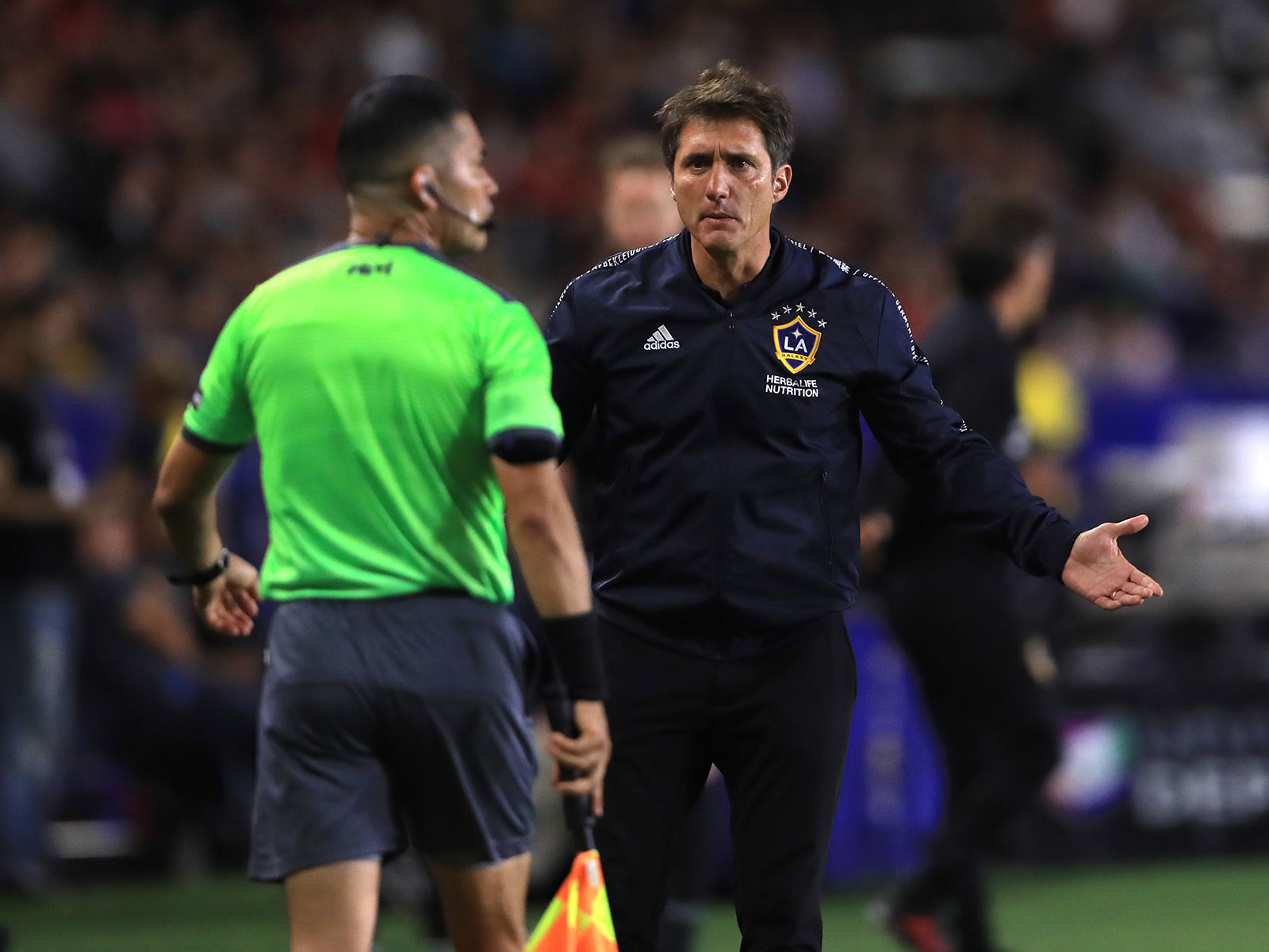 Guillermo Barros Schelotto and the LA Galaxy are in peril of missing the playoffs