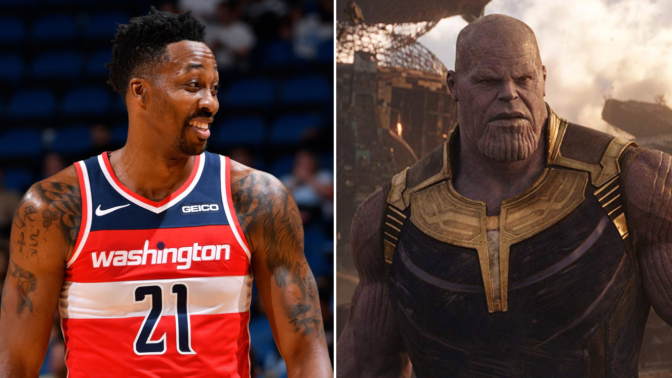 Dwight Howard: Thanos inspires Lakers C to buy purple car (video)