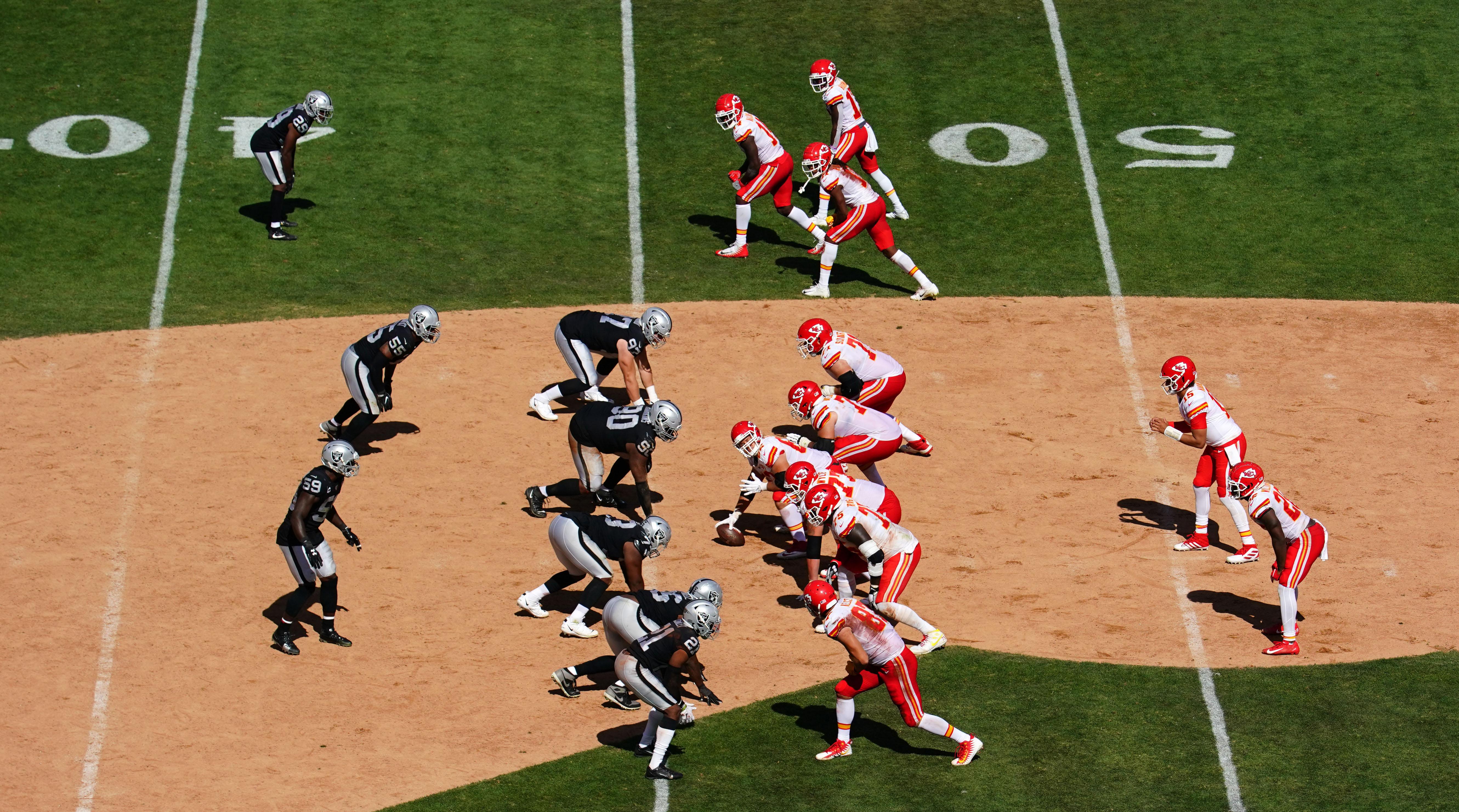 Kansas City Chiefs vOakland Raiders