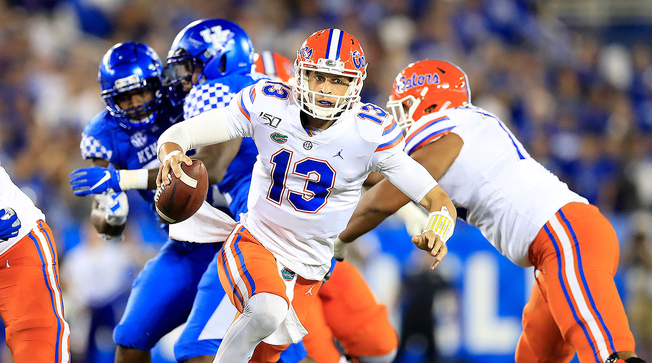 Feleipe Franks injury Florida vs Kentucky