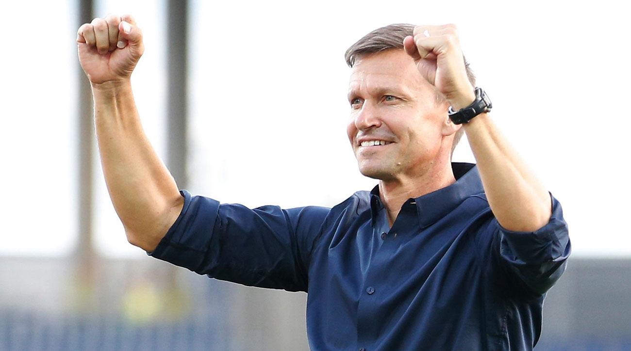 Jesse Marsch will coach RB Salzburg in the Champions League