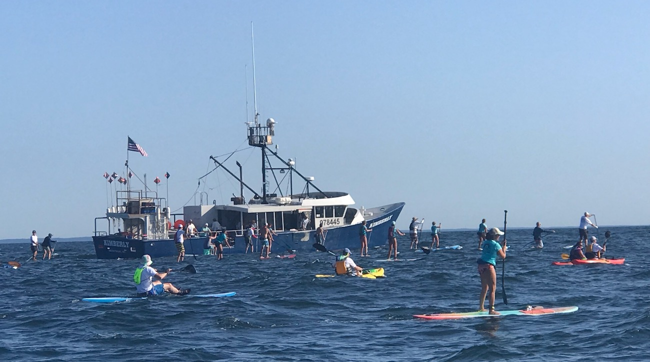 Northeast Charity Paddle Event is a Test of Endurance
