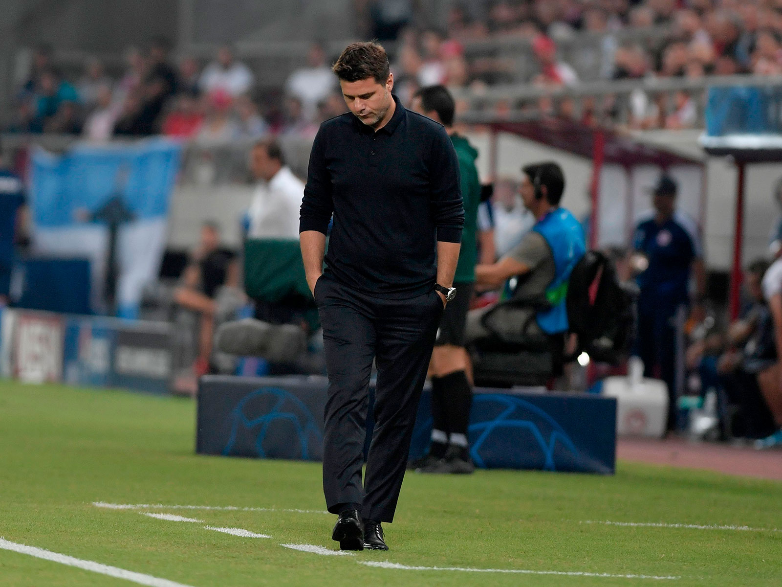 Mauricio Pochettino watches Tottenham blow a 2-0 lead to Olympiakos
