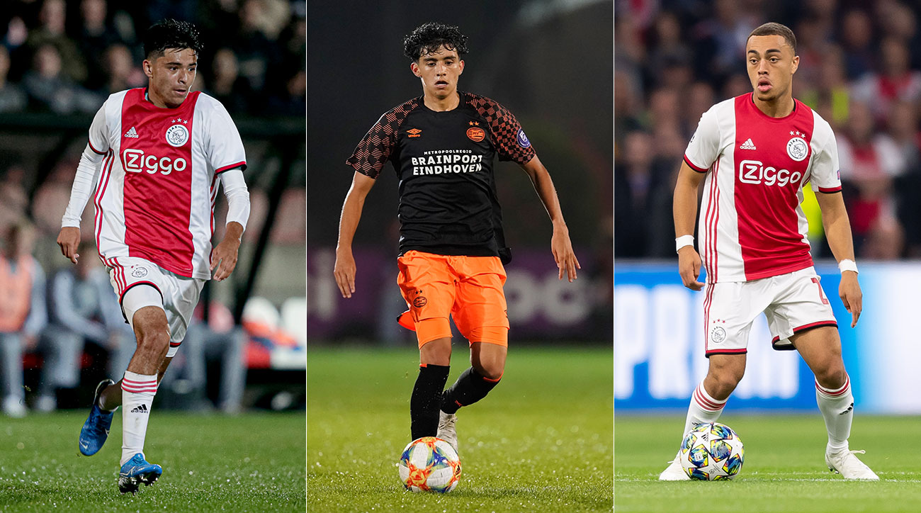 Alex Mendez, Richie Ledezma and Sergino Dest are three of USMNT's up-and-coming prospects