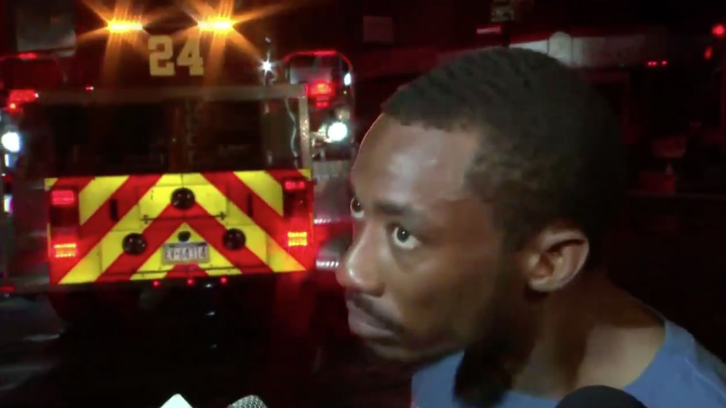 Eagles fan rips Nelson Agholor after saving people in fire (video)