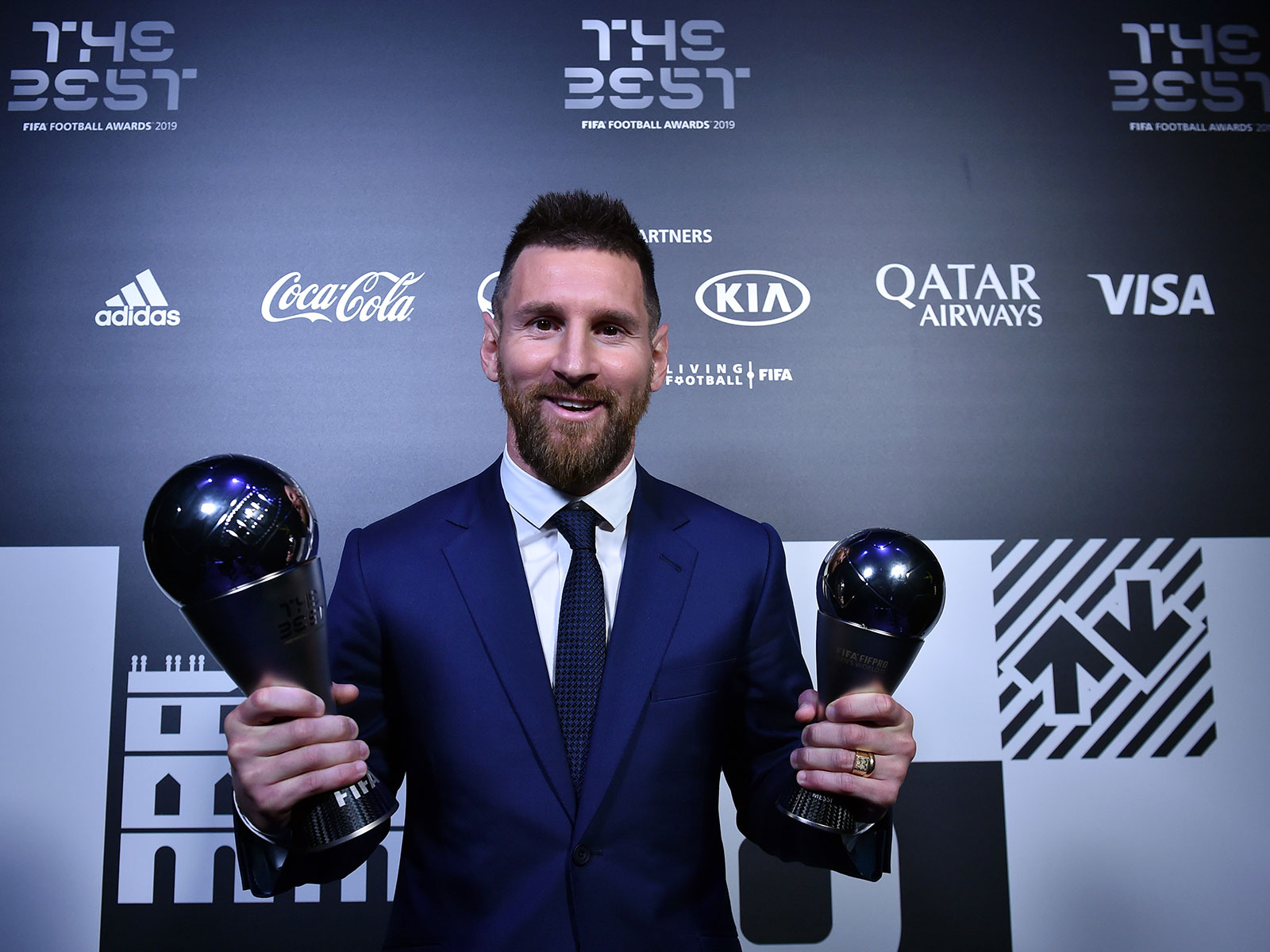Lionel Messi won FIFA's player of the year award again