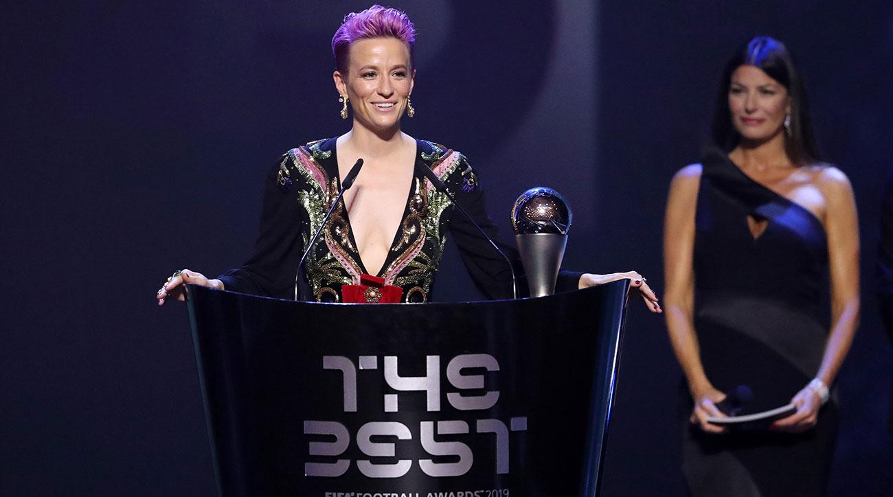 Megan Rapinoe wins FIFA's player of the year award