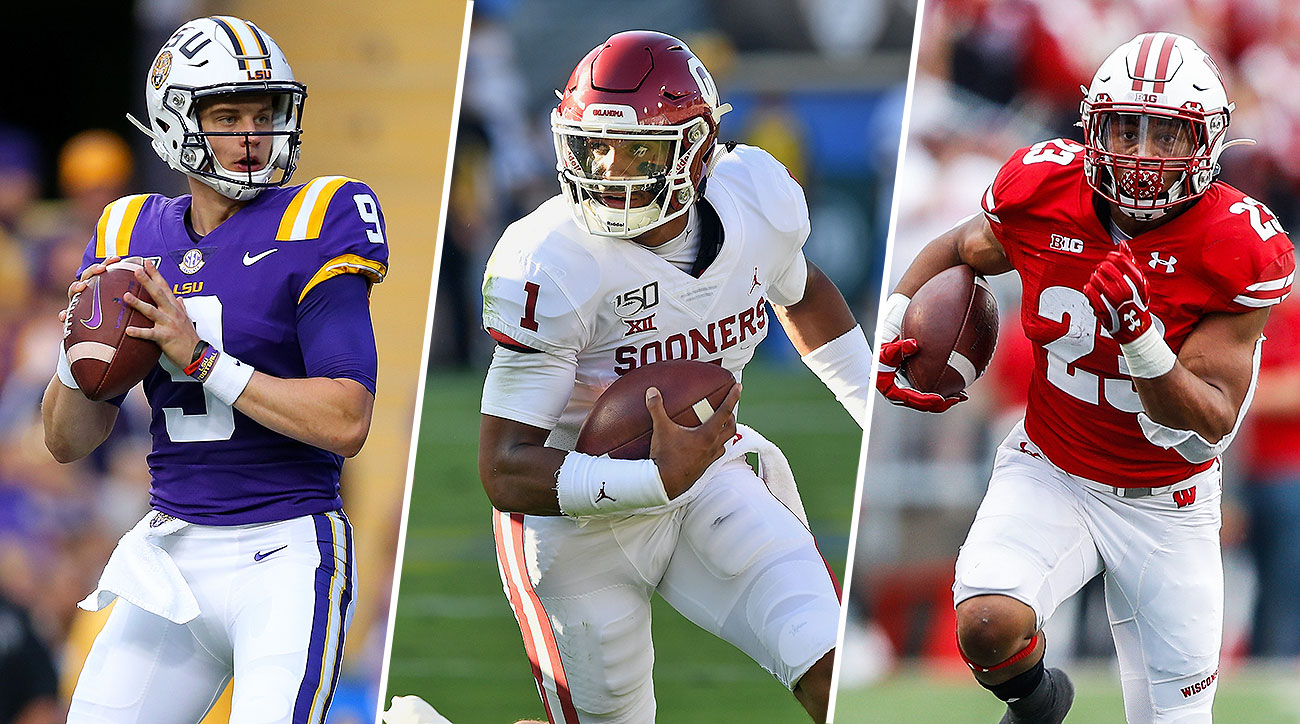 College football LSU Joe Burrow Oklahoam Jalen Hurts Heisman