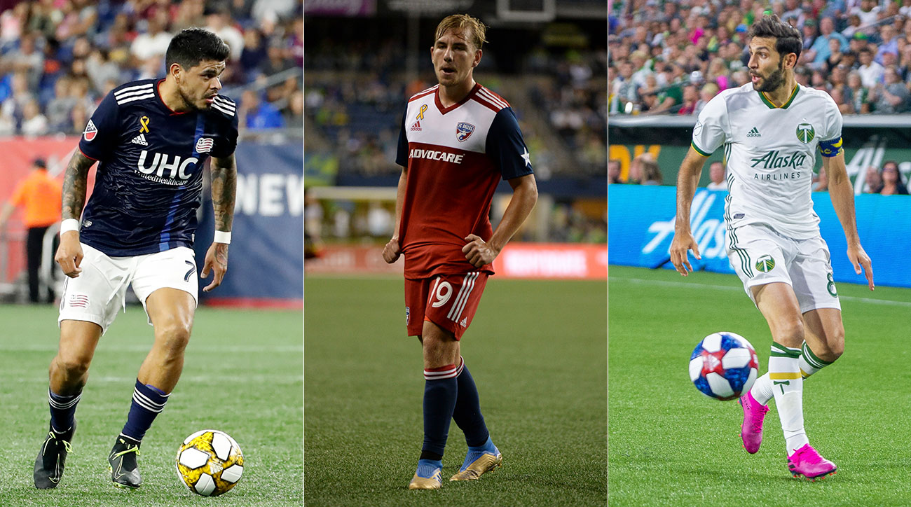 The New England Revolution, FC Dallas and Portland Timbers are fighting for places in the MLS playoffs