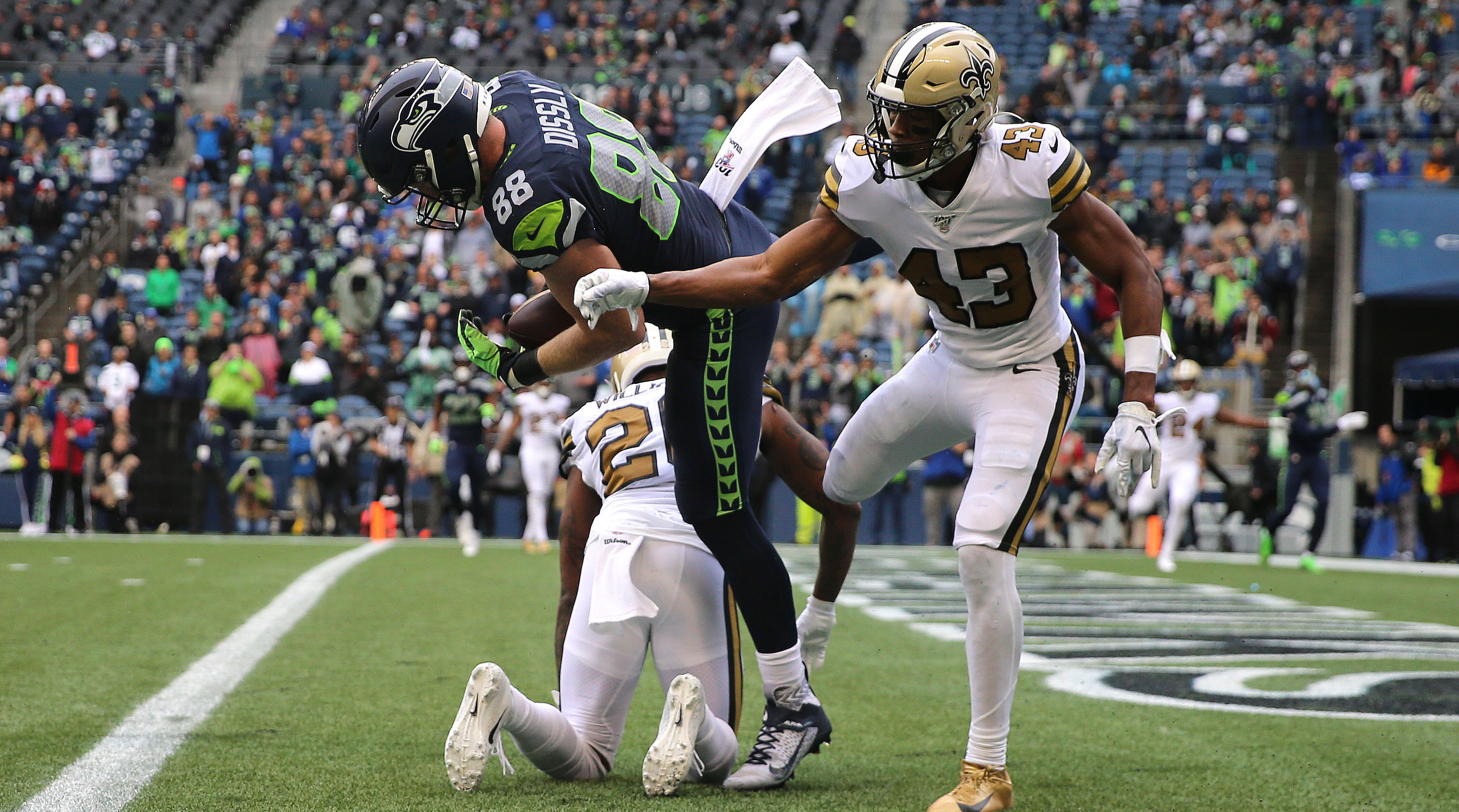 New Orleans Saints v Seattle Seahawks