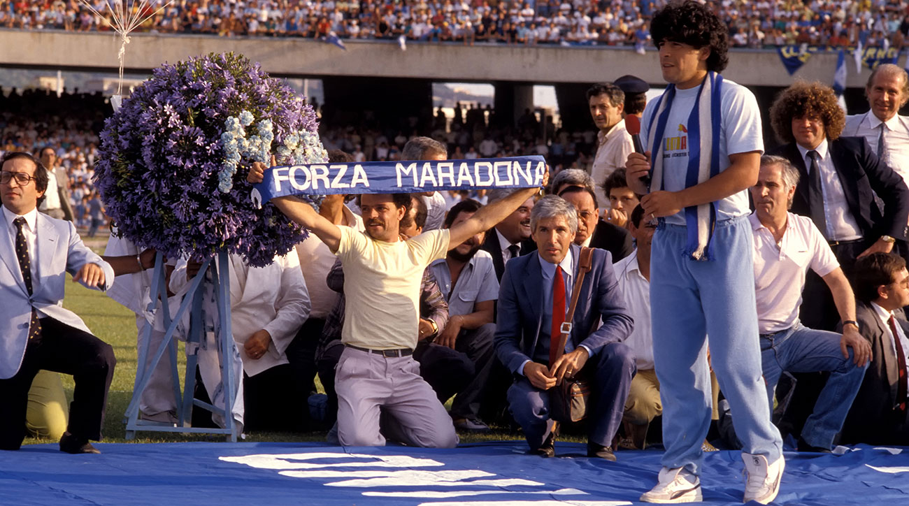 Diego Maradona is the center of an HBO documentary