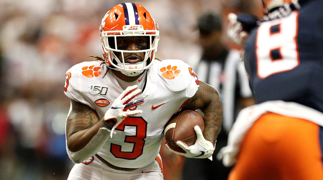 Clemson football Amari Rodgers ACL return recovery tear