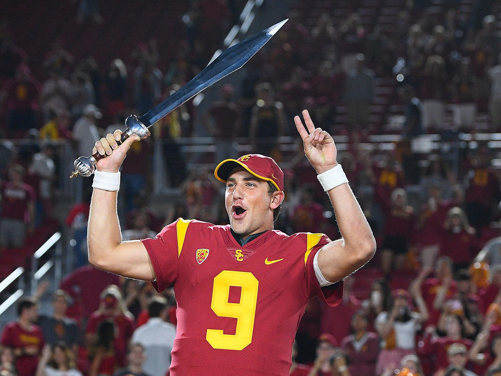USC Trojans football Kedon Slovis