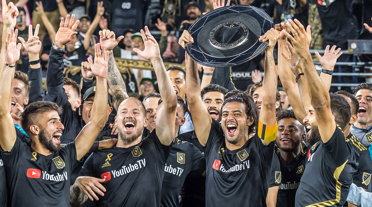 LAFC wins the MLS Supporters' Shield