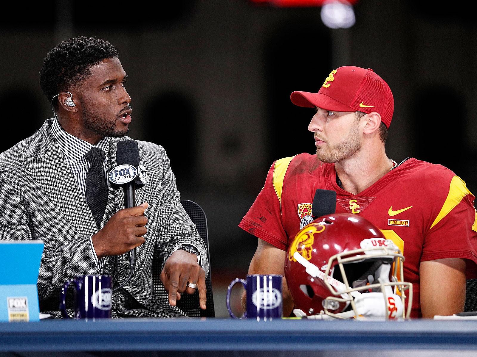 USC football QB Matt Fink Reggie Bush FOX Sports