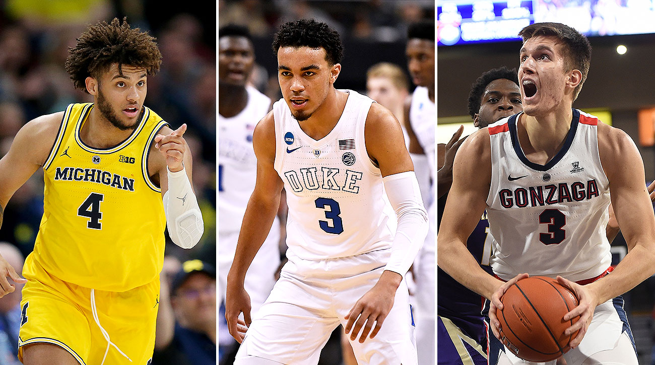 College basketball breakout candidates Tre Jones Duke Isaiah Livers Michigan