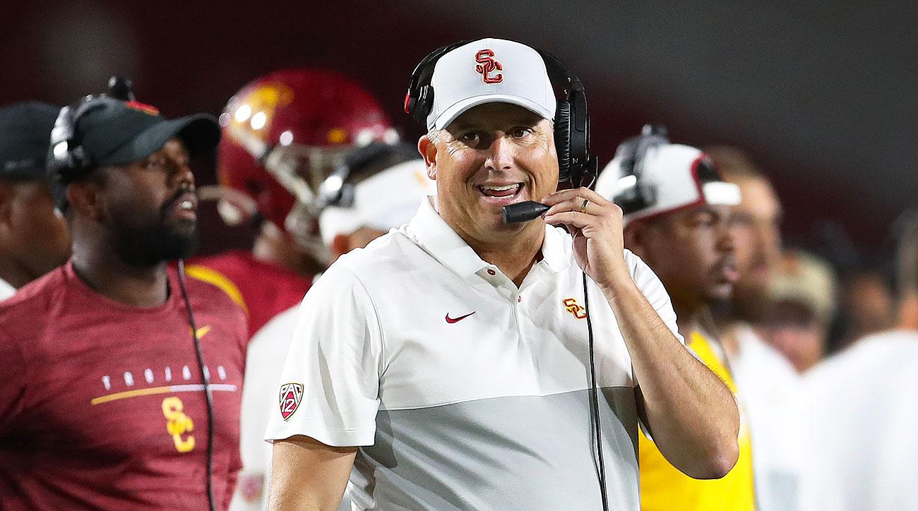 USC Trojans football Clay Helton Lynn Swann Kedon Slovis
