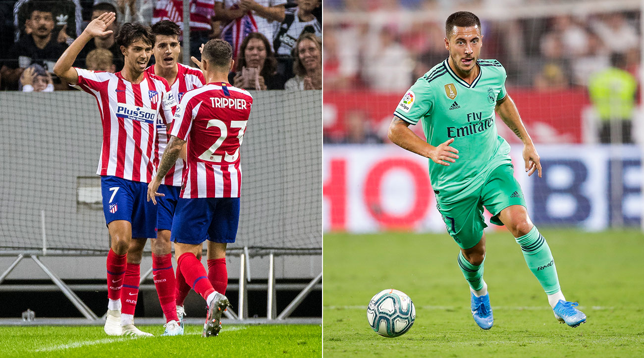 Joao Felix leads Atletico Madrid vs. Eden Hazard and Real Madrid