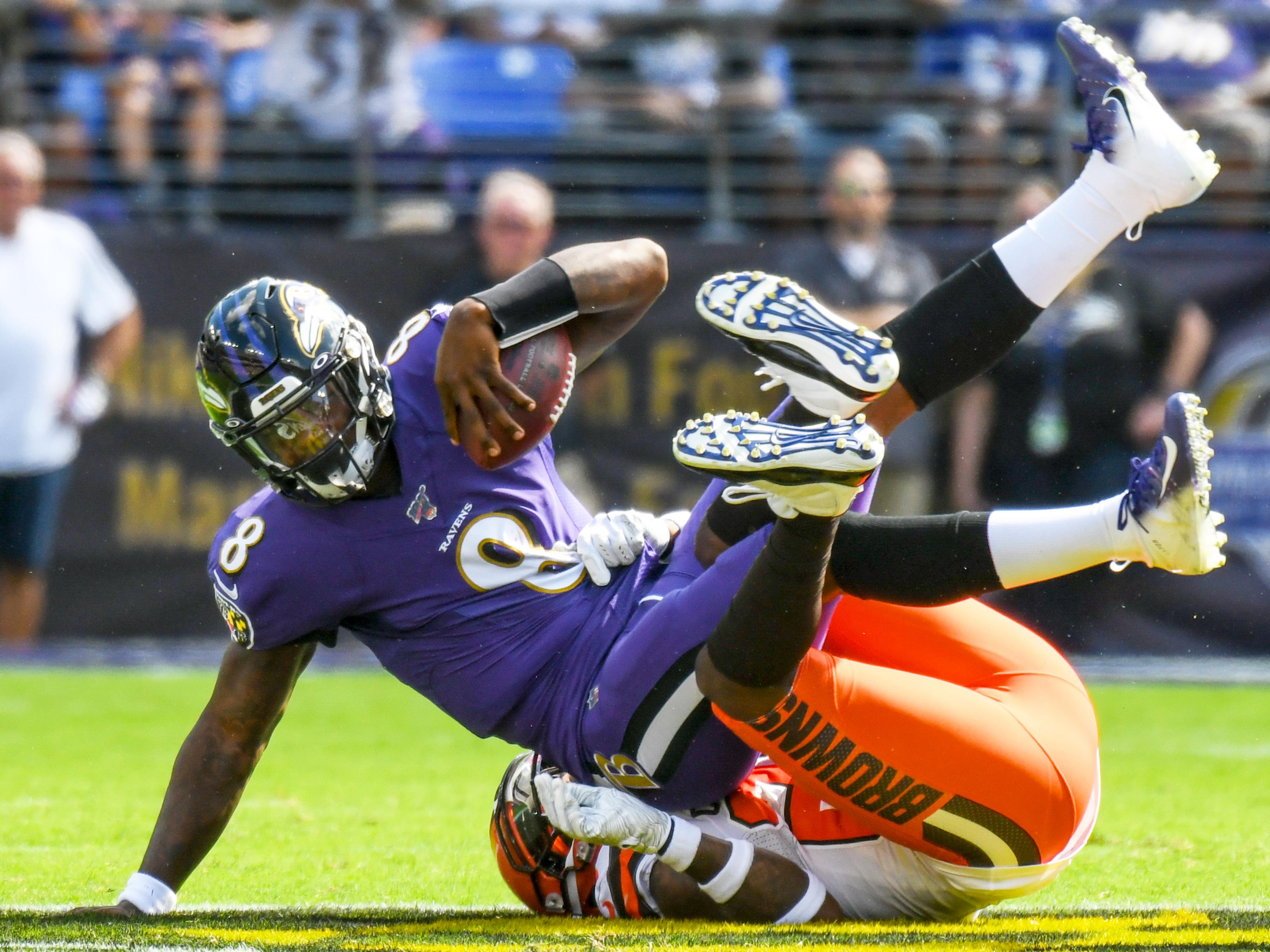 NFL: SEP 29 Browns at Ravens