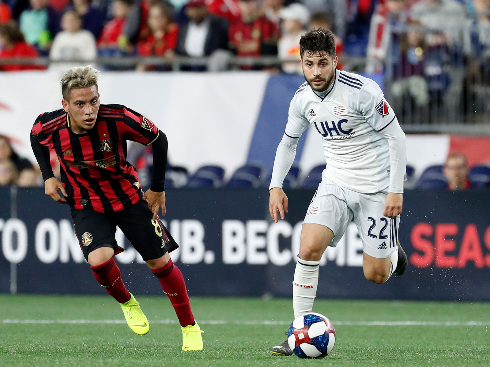 Atlanta United faces the New England Revolution