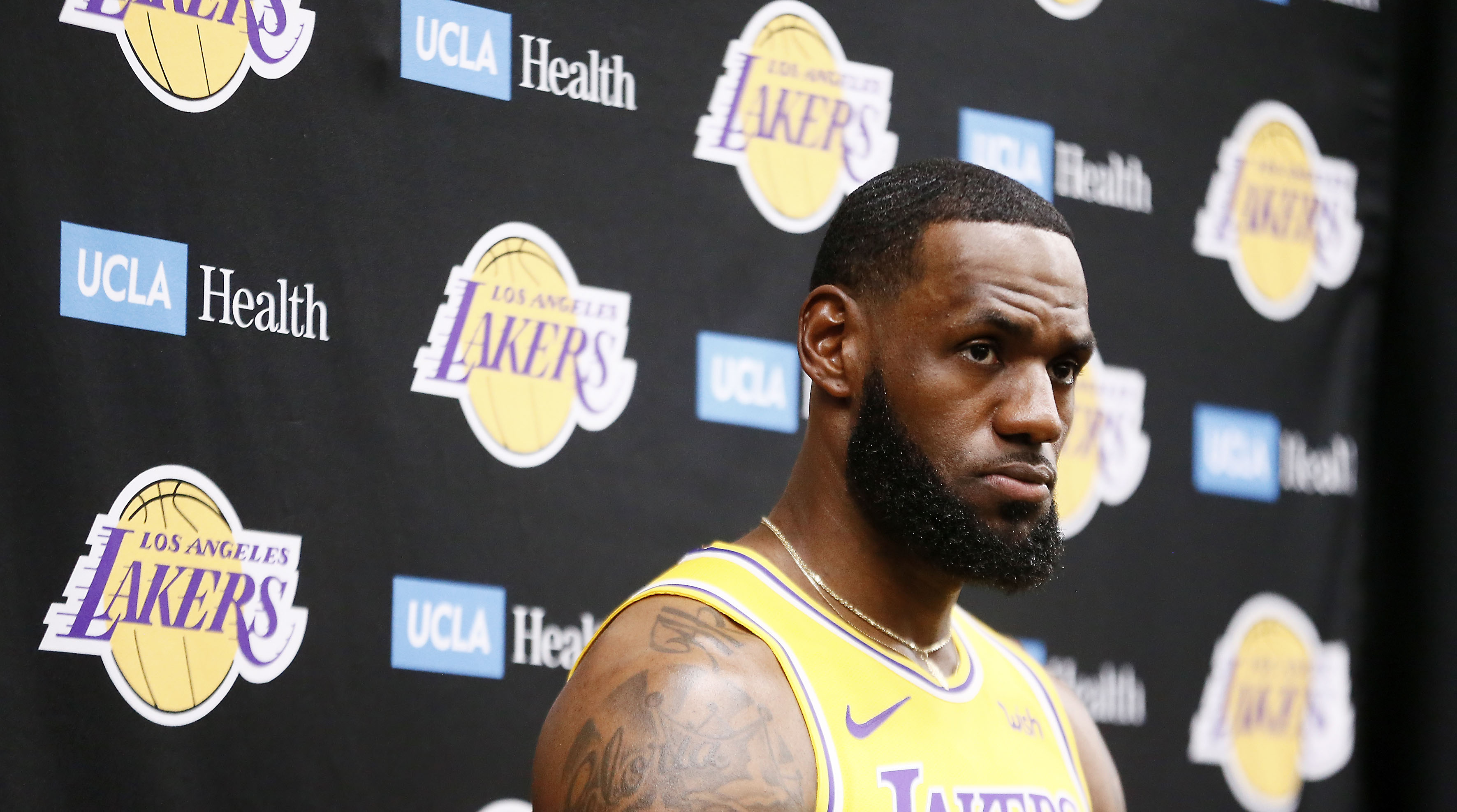 LeBron James talks new California law
