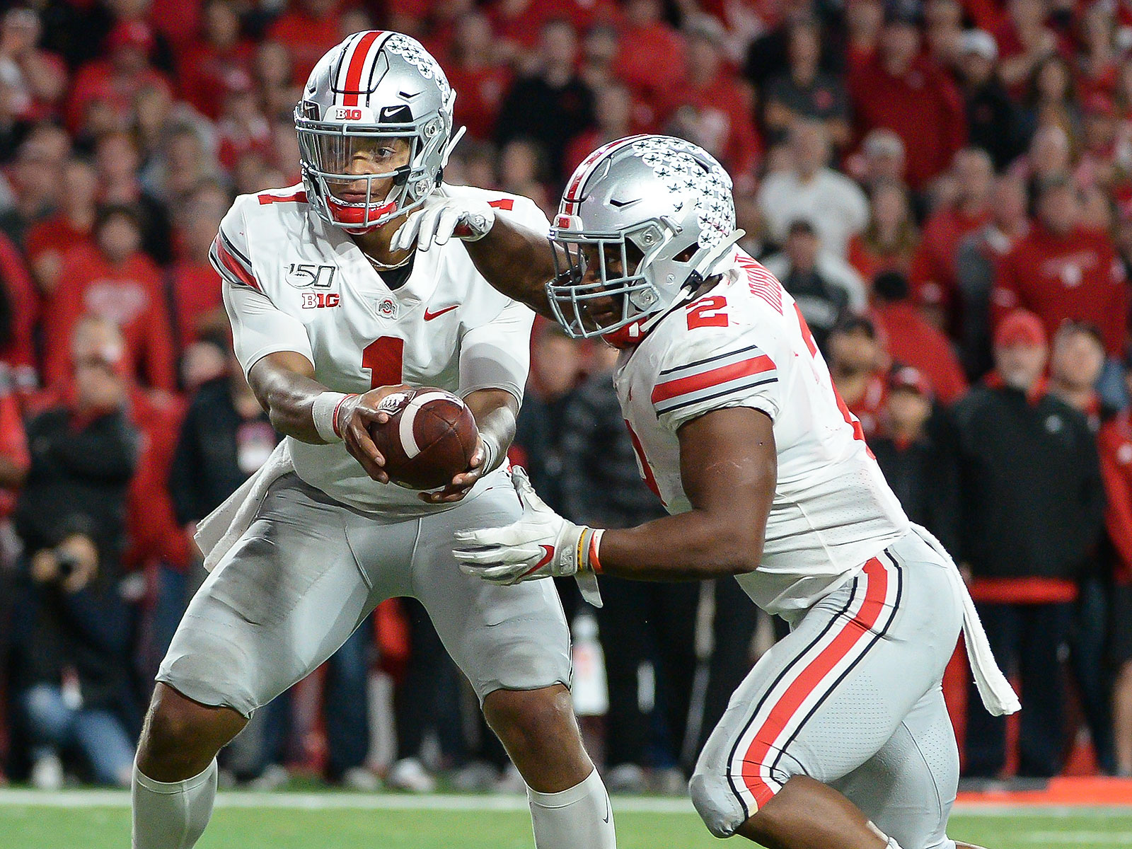 Ohio State Justin Fields football