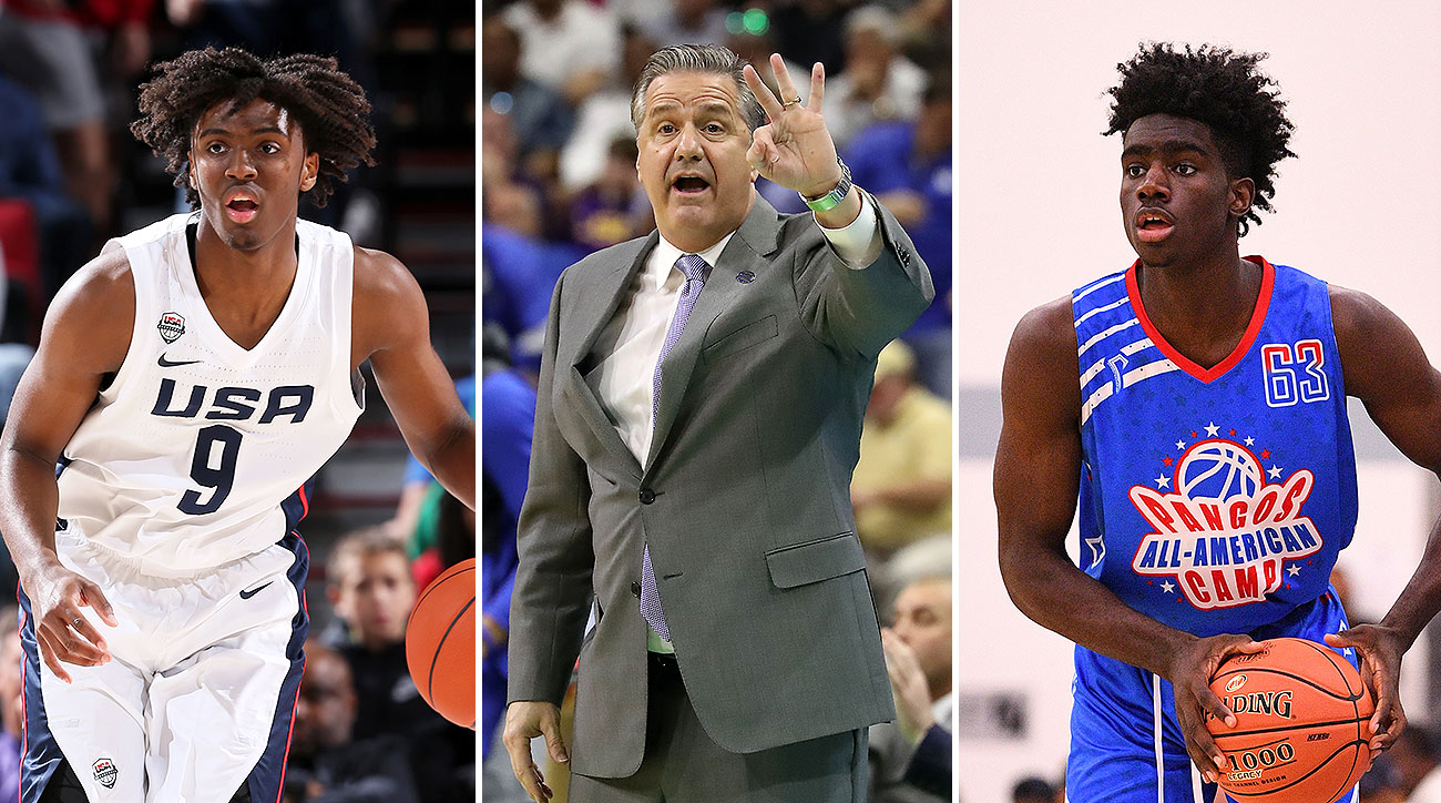 Kentucky basketball recruiting 2019 Tyrese Maxey John Calipari
