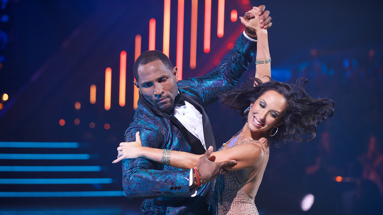 extra mustard, Ray Lewis, Dancing with the Stars, cheryl burke, wire